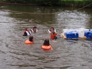 """Die Gruppenleiter gehen """"baden"""""""