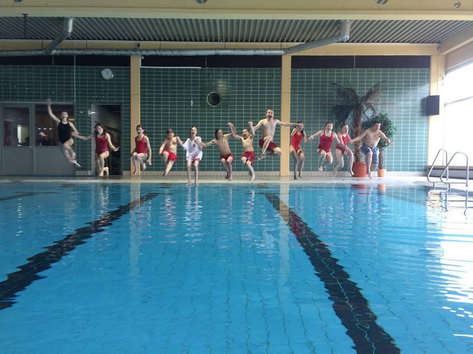 Abschluss des schwimmerischen Teils